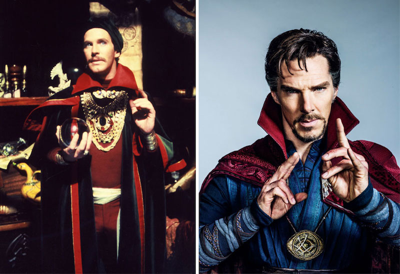 Doctor Strange from 1978 and 2016