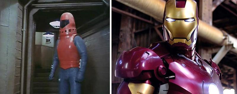 Exo-Man-Iron Man – 1977 vs. 2008