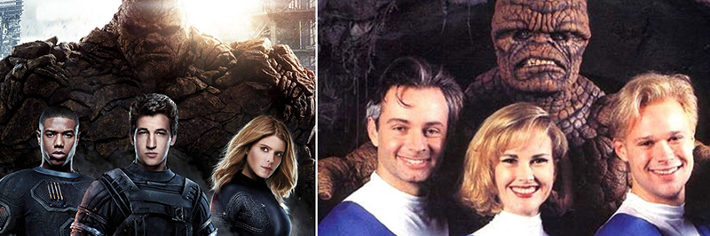 Fantastic Four from 1994 and 2015