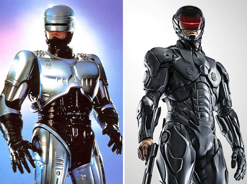 Robocop from 1987 and 2014
