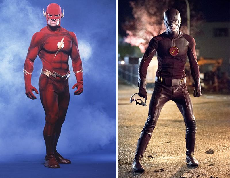 The Flash -1990 vs. 2016