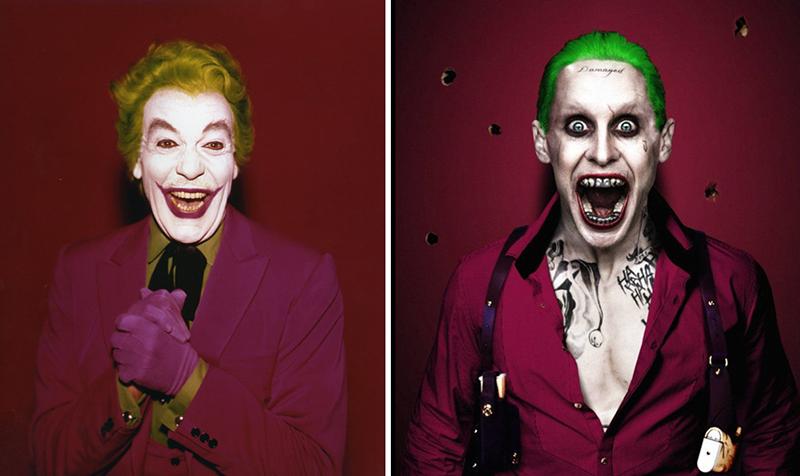 The Joker – 1966 vs. 2016