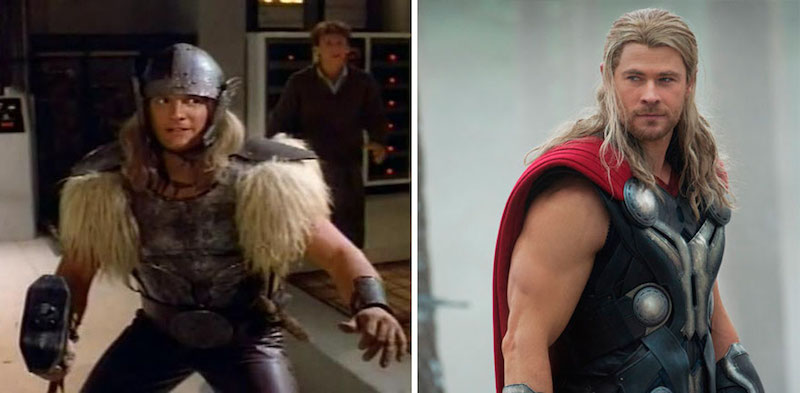 Thor from 1978 and 2015