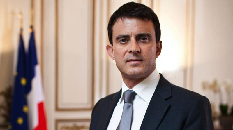 Ο Γάλλος πρωθυπουργός, Μανουέλ Βαλς