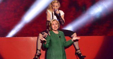 Η Madonna τάζει στοματικό σεξ σε όποιον ψηφίσει Χίλαρι!