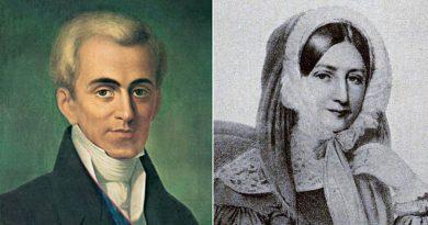 Ιωάννης Καποδίστριας και Ρωξάνδρα Στούρτζα: Το χρονικό ενός ανεκπλήρωτου έρωτα