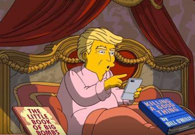 Οι Simpsons τρολάρουν με ένα εξαιρετικό βίντεο τις πρώτες 100 ημέρες του Τραμπ